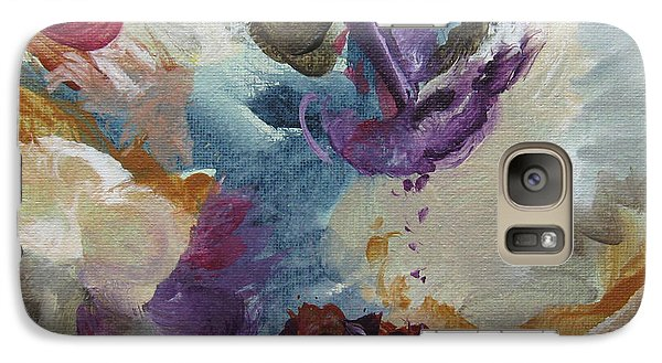 Galaxy Case featuring the painting Musing 109 by Elis Cooke