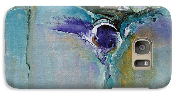 Galaxy Case featuring the painting Musing 18 by Elis Cooke