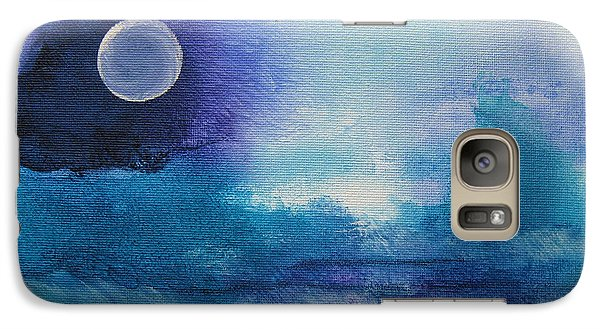 Galaxy Case featuring the painting Musing 37 by Elis Cooke