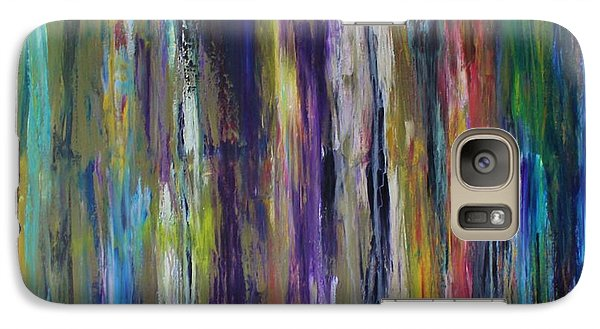 Galaxy Case featuring the painting Must First Survive Thyself by Michael Cross