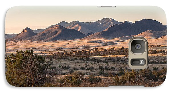 Mustang Evening Galaxy S7 Case by Beverly Parks