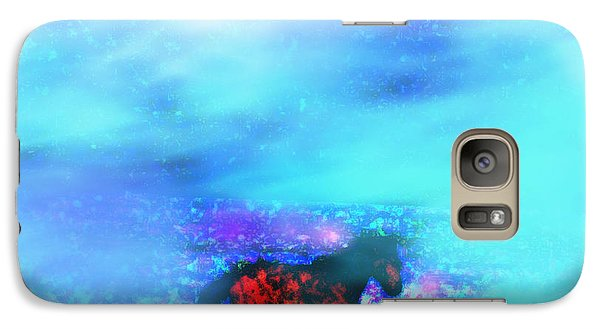Galaxy Case featuring the photograph Mustang Freedom Dreams by Anastasia Savage Ealy