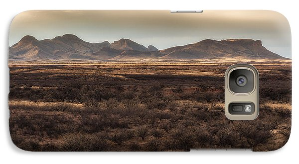 Galaxy Case featuring the photograph Mustang Mountains by Beverly Parks