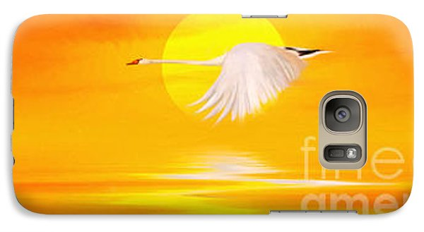 Mute Sunset Galaxy S7 Case by John Edwards
