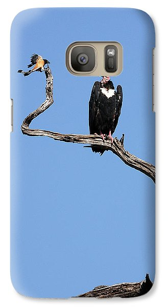 Galaxy Case featuring the photograph Mutual Admiration by Fotosas Photography