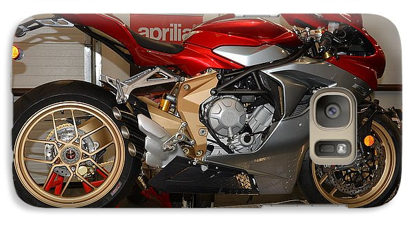 Galaxy Case featuring the photograph Mv Agusta by Lawrence Christopher