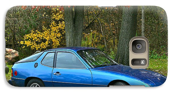 Galaxy Case featuring the photograph My 1977 Porsche 924 by Joan McArthur