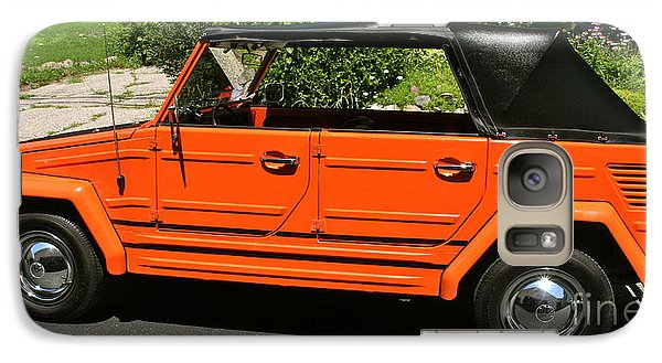 Galaxy Case featuring the photograph My '73 Vw Thing by Joan McArthur