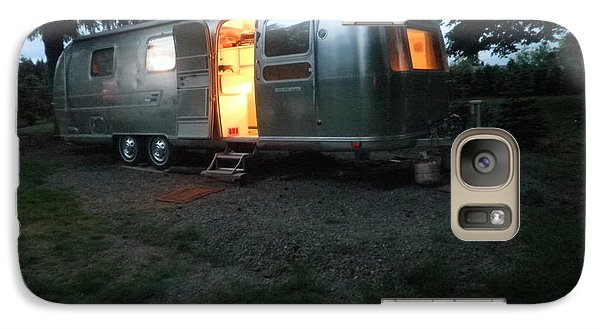 Galaxy Case featuring the photograph My Airstream Dream by Suzanne McKay