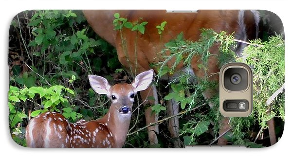 Galaxy Case featuring the photograph My Baby by Deena Stoddard