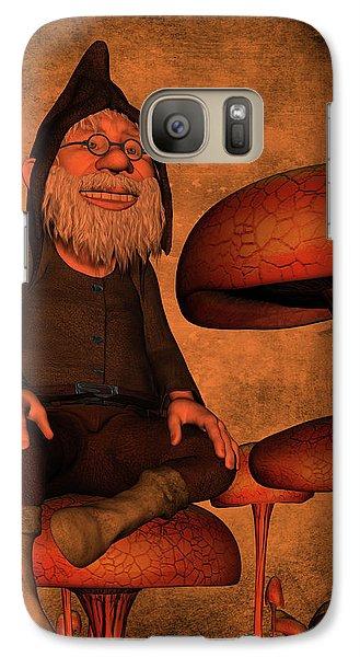 Galaxy Case featuring the digital art My Beautiful World by Gabiw Art