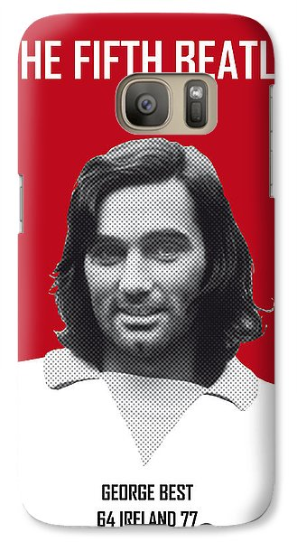 My Best Soccer Legend Poster Galaxy S7 Case by Chungkong Art