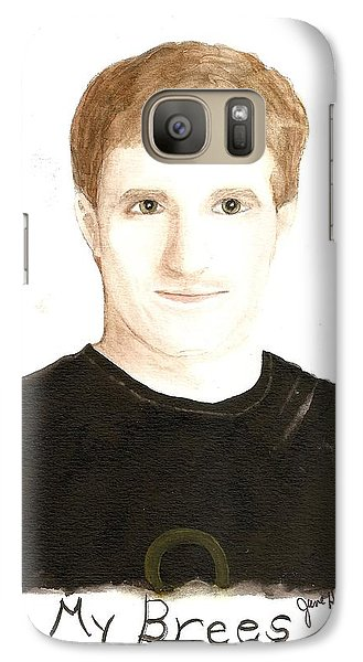 Galaxy Case featuring the painting My Brees by June Holwell