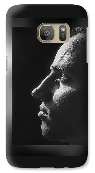 Galaxy Case featuring the photograph Just  Don' T  Smoke  by Hartmut Jager