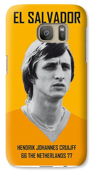 My Cruijff Soccer Legend Poster Galaxy S7 Case