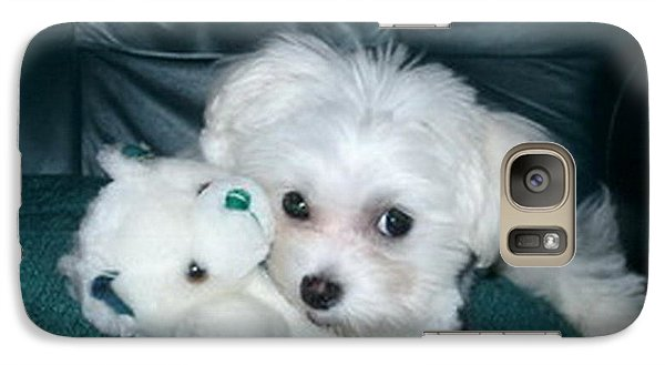 Galaxy Case featuring the photograph My Dog Maggie by Joyce Gebauer