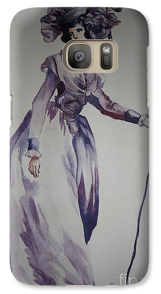 Galaxy Case featuring the painting My Fair Lady by PainterArtist FIN