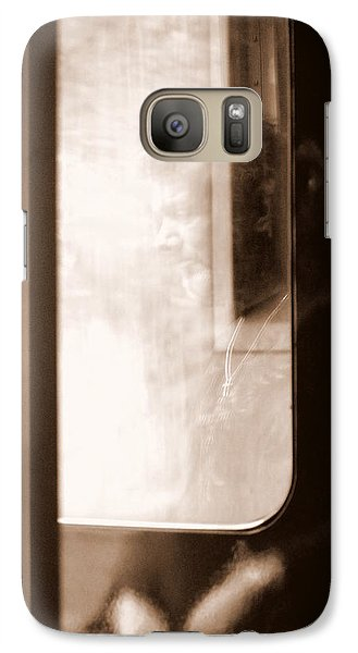 Galaxy Case featuring the photograph My Father by Faith Williams