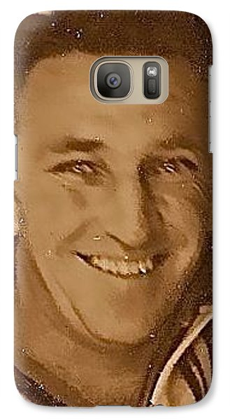 Galaxy Case featuring the photograph My Father's Legacy by Randy Rosenberger