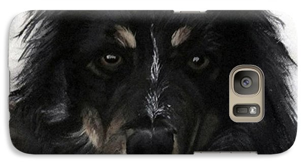 Galaxy Case featuring the painting My Favorite Bud by Sharon Duguay
