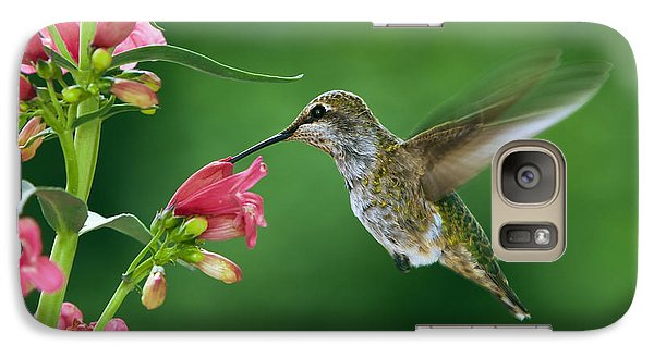 Galaxy Case featuring the photograph My Favorite Flowers by William Lee