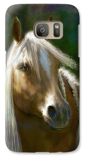 Galaxy Case featuring the digital art My Favorite by Kari Nanstad