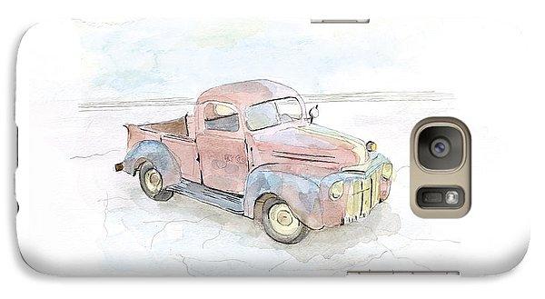 My Favorite Truck Galaxy Case by Joan Sharron