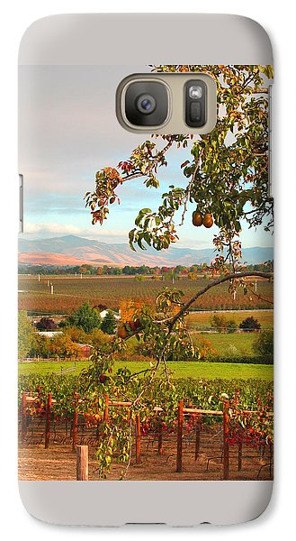 Galaxy Case featuring the photograph My Favorite Valley View by Brooks Garten Hauschild
