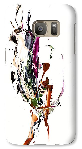 Galaxy Case featuring the painting My Form Of Jazz Series - 10186.110709 by Kris Haas