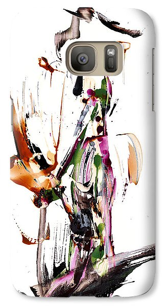 Galaxy Case featuring the painting My Form Of Jazz Series - 10187.110709 by Kris Haas
