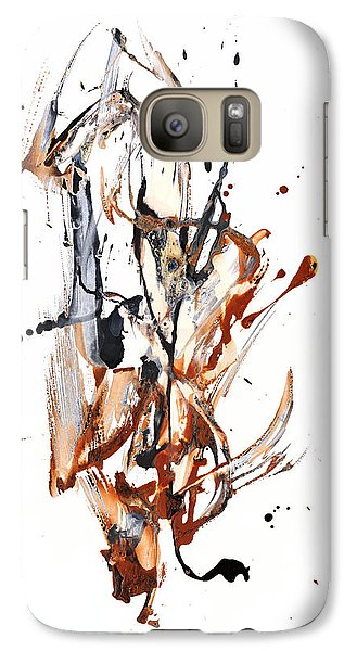 Galaxy Case featuring the painting My Form Of Jazz Series - 10188.110709 by Kris Haas