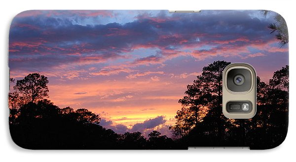 Galaxy Case featuring the photograph My Front Porch View by Max Mullins