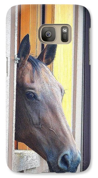 Galaxy Case featuring the photograph My Home by Barbara Dudley