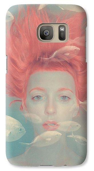 Surrealism Galaxy S7 Case - My Imaginary Fishes by Anka Zhuravleva