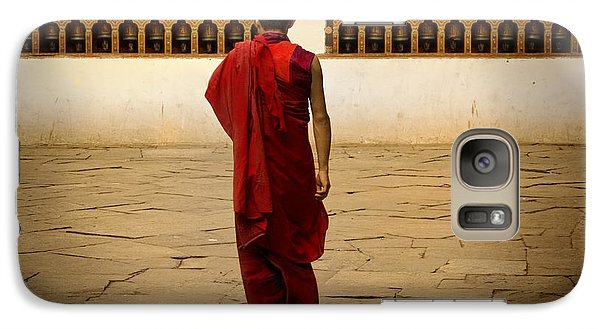 Galaxy Case featuring the digital art My Monastery  by Angelika Drake