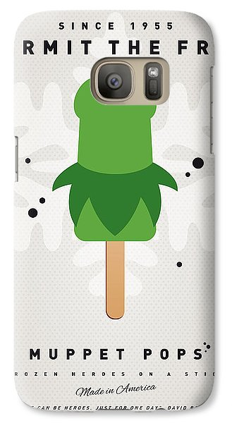 Amphibians Galaxy S7 Case - My Muppet Ice Pop - Kermit by Chungkong Art