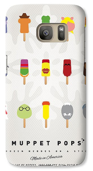 Amphibians Galaxy S7 Case - My Muppet Ice Pop - Univers by Chungkong Art