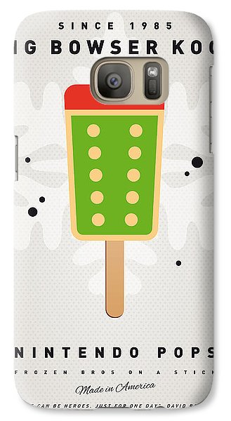 My Nintendo Ice Pop - King Bowser Galaxy S7 Case
