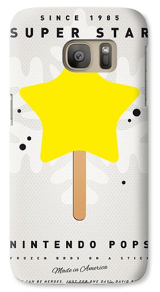 Castle Galaxy S7 Case - My Nintendo Ice Pop - Super Star by Chungkong Art