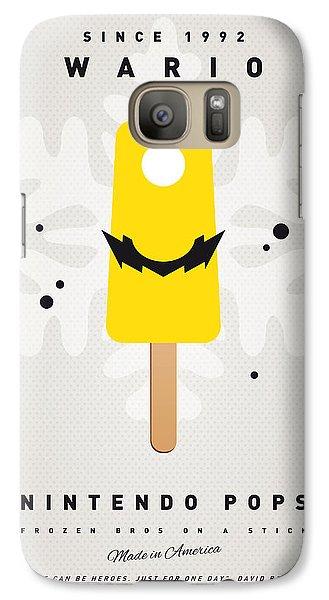 Peach Galaxy S7 Case - My Nintendo Ice Pop - Wario by Chungkong Art