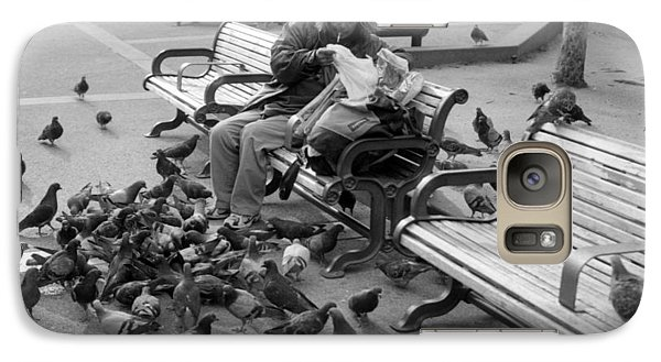 Galaxy Case featuring the photograph My Only Friends by Luis Esteves