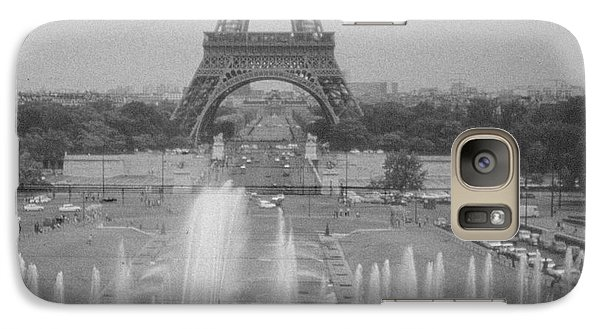 Galaxy Case featuring the photograph my Paris by Steven Macanka