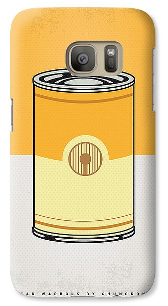 My Star Warhols 3cpo Minimal Can Poster Galaxy S7 Case