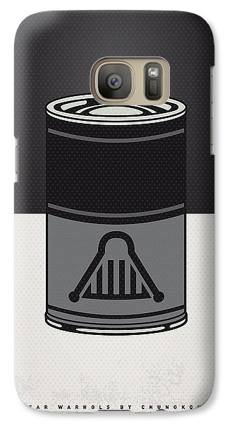 My Star Warhols Darth Vader Minimal Can Poster Galaxy S7 Case