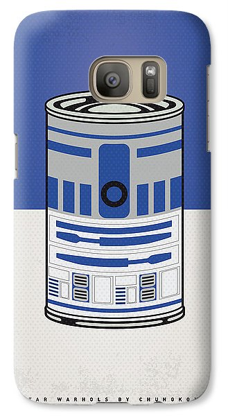 My Star Warhols R2d2 Minimal Can Poster Galaxy S7 Case by Chungkong Art