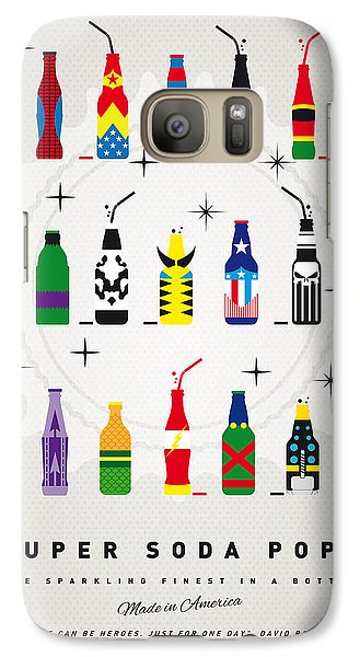 My Super Soda Pops No-00 Galaxy S7 Case by Chungkong Art