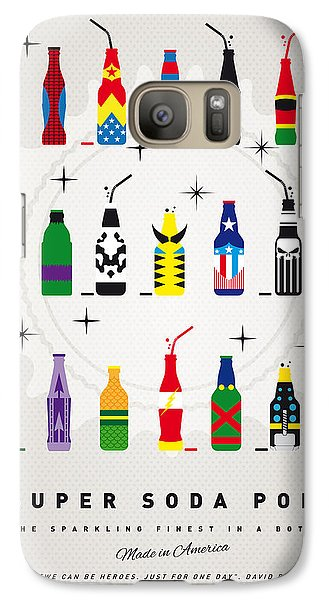 Galaxy S7 Case - My Super Soda Pops No-00 by Chungkong Art