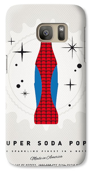 Spider Galaxy S7 Case - My Super Soda Pops No-02 by Chungkong Art