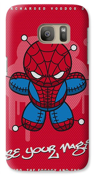 Spider Galaxy S7 Case - My Supercharged Voodoo Dolls Spiderman by Chungkong Art