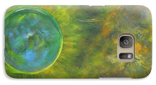 Galaxy Case featuring the painting My Universe by Riana Van Staden